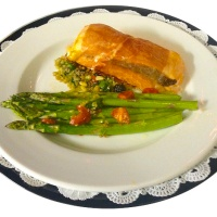 Salmon Saltimbocca Recipe