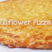 Pizza with a Cauliflower Crust  ~ Healthy Back to School Snack!