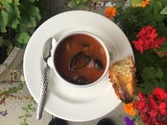 Mussel Soup Delicious!