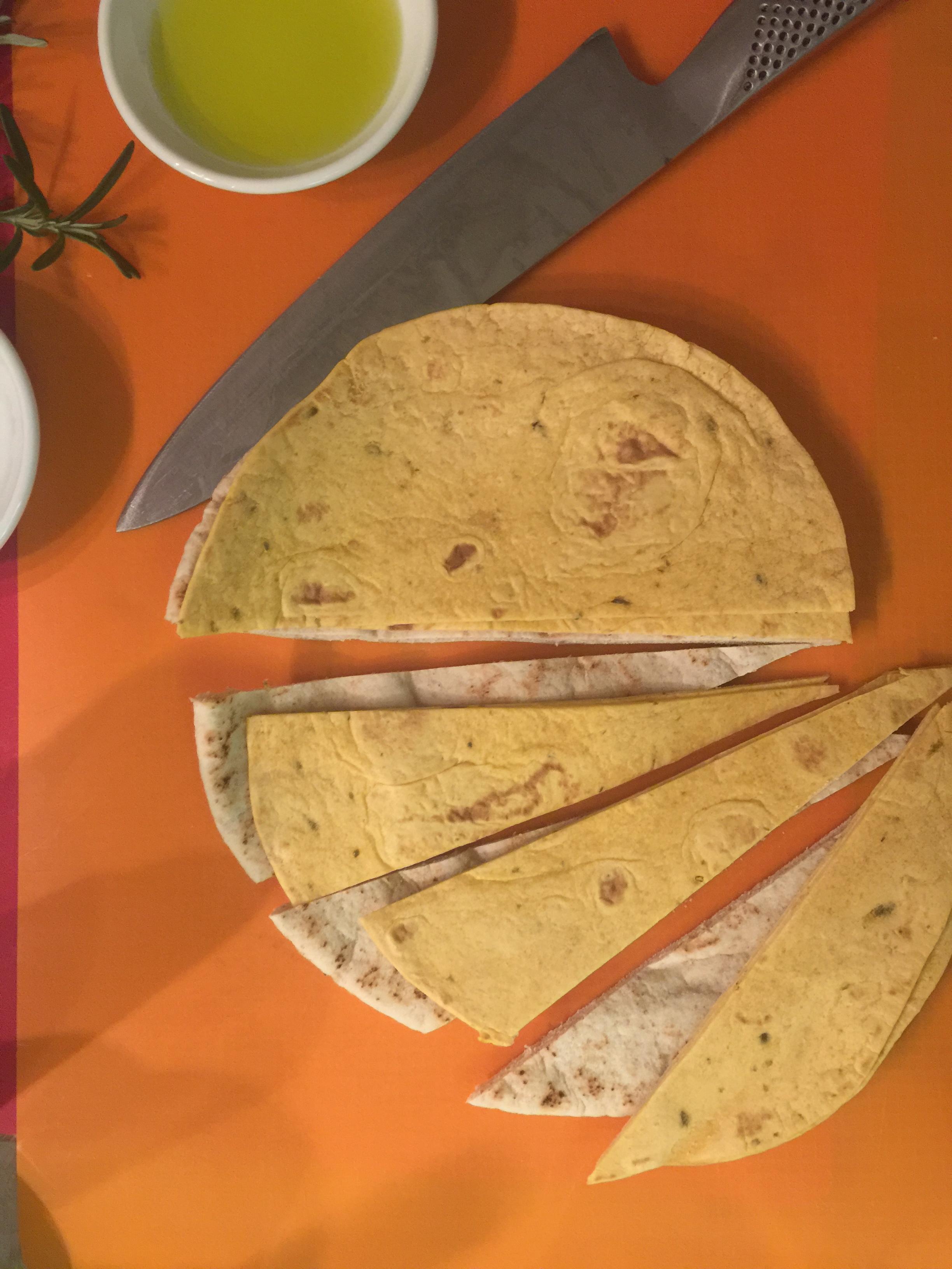 slice into wedges
