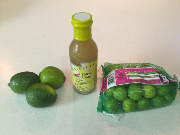 Limes + Key Lime Concentrate + Key Limes