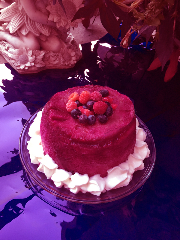 Simply Splendid Summer Pudding (used Charlotte mold)!
