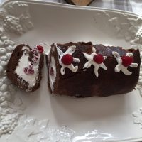 Chocolate Roulade - No Flour
